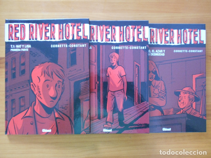 RED RIVER HOTEL COMPLETA - 3 TOMOS TAPA DURA - CORNETTE - CONSTANT - GLENAT (CB) (Tebeos y Comics - Glénat - Comic USA)