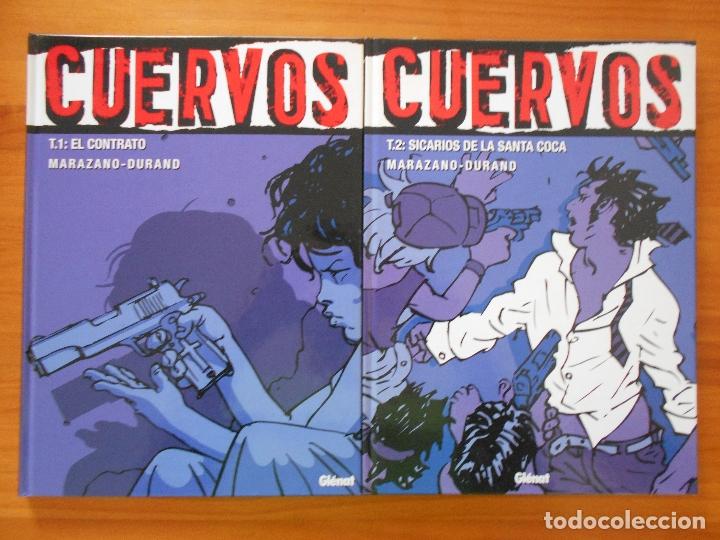 Cómics: CUERVOS COMPLETA - 4 TOMOS TAPA DURA - MARAZANO - DURAND - GLENAT (S) - Foto 2 - 179298301