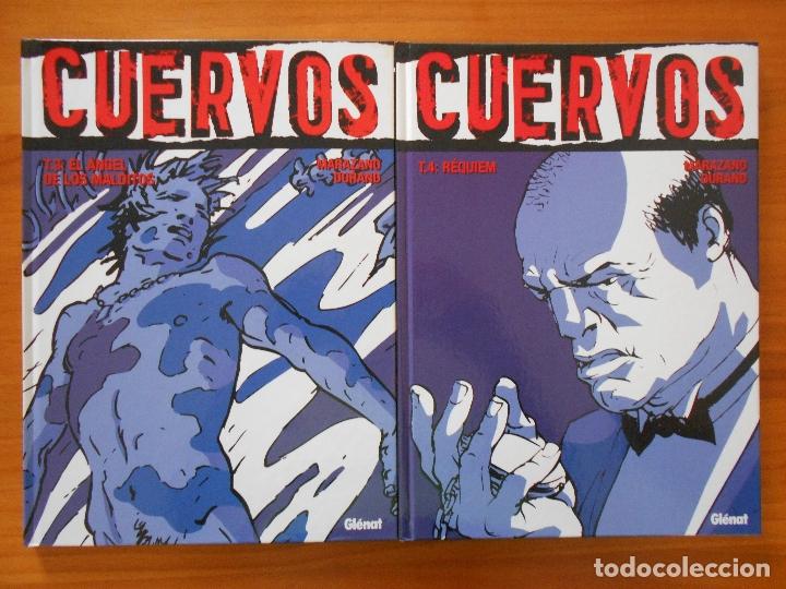 Cómics: CUERVOS COMPLETA - 4 TOMOS TAPA DURA - MARAZANO - DURAND - GLENAT (S) - Foto 3 - 179298301