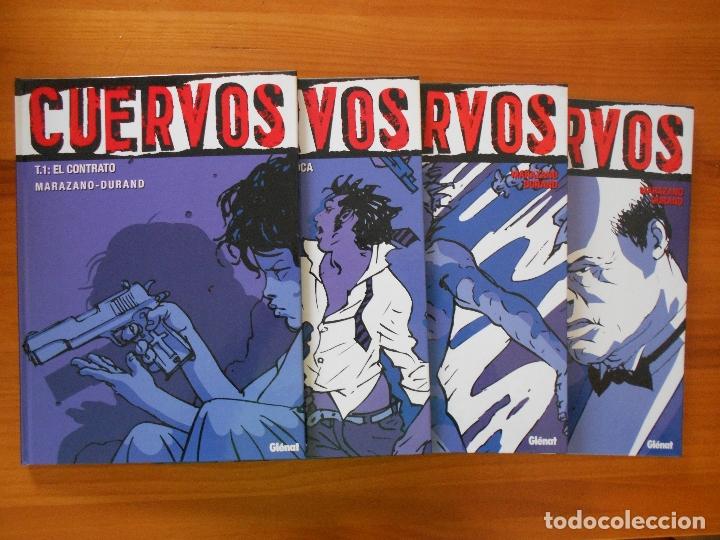CUERVOS COMPLETA - 4 TOMOS TAPA DURA - MARAZANO - DURAND - GLENAT (S) (Tebeos y Comics - Glénat - Comic USA)