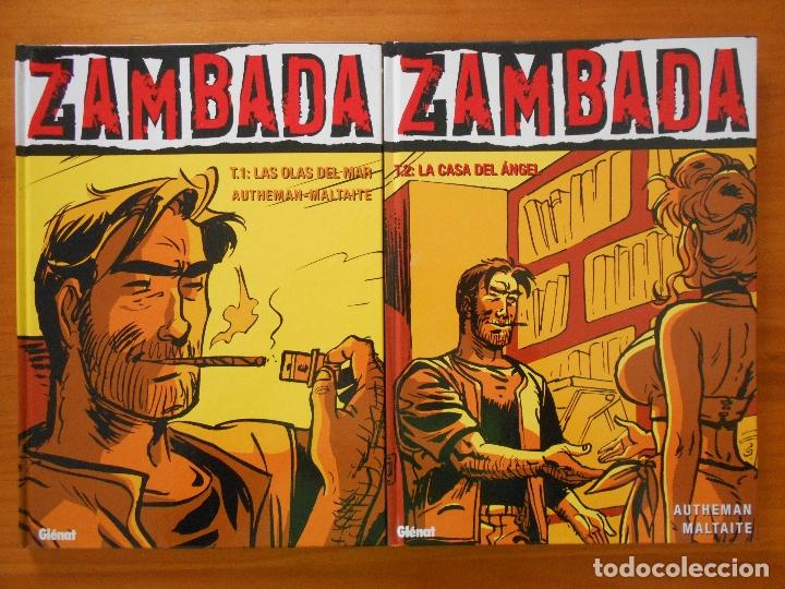 Cómics: ZAMBADA COMPLETA - 4 TOMOS TAPA DURA - AUTHEMAN - MALTAITE - GLENAT (S) - Foto 2 - 179309561