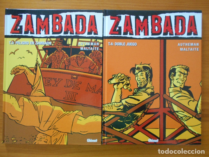 Cómics: ZAMBADA COMPLETA - 4 TOMOS TAPA DURA - AUTHEMAN - MALTAITE - GLENAT (S) - Foto 3 - 179309561