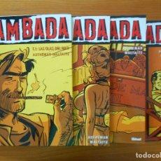 Cómics: ZAMBADA COMPLETA - 4 TOMOS TAPA DURA - AUTHEMAN - MALTAITE - GLENAT (S). Lote 179309561