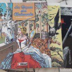 Cómics: EN BUSCA DEL UNICORNIO. 3 TOMOS COMPLETA. ANA MIRALLES Y EMILIO RUIZ.. Lote 179340192