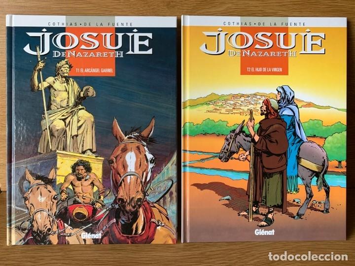 JOSUE DE NAZARETH (COLECCION COMPLETA) - COTHIAS Y VICTOR DE LA FUENTE (GLENAT 1998) (Tebeos y Comics - Glénat - Autores Españoles)