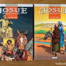 Cómics: JOSUE DE NAZARETH (COLECCION COMPLETA) - COTHIAS Y VICTOR DE LA FUENTE (GLENAT 1998). Lote 179515797