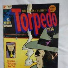 Cómics: COMIC TORPEDO 1936 N° 20. Lote 179517970