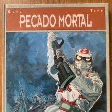 Cómics: PECADO MORTAL - BEHE, DIBUJANTE Y TOFF, GUIONISTA - GLENAT 1993 - TAPA DURA 64 PÁGINAS. Lote 181108185