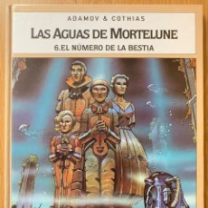 Cómics: LAS AGUAS DE MORTELUNE - TOMO 6 EL NUMERO DE LA BESTIA - ADAMOV & COTHIAS - GLENAT - TAPA DURA. Lote 181108830