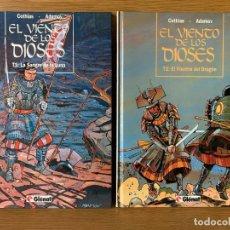 Cómics: EL VIENTO DE LOS DIOSES - COMPLETA 5 TOMOS - COTHIAS, ADAMOV - GLENAT. Lote 181111313