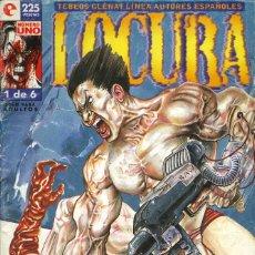 Fumetti: LOCURA - GLÉNAT / NÚMERO 1. Lote 181223333