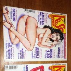 Cómics: KISS COMIX LOTE NUMS 62 Y 85 COMIC EROTICO. LA CÚPULA.. Lote 181403116