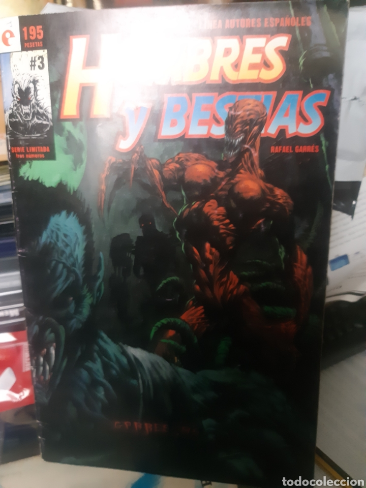 TEBEOS-CÓMICS CANDY - HOMBRES Y BESTIAS 3 - GLÉNAT- AA99 (Tebeos y Comics - Glénat - Autores Españoles)