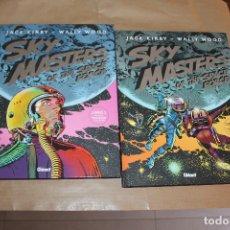 Cómics: SKY MASTER OF THE SPACE FORCE, LIBRO 1 Y 2, DE JACK KIRBY, EDITORIAL GLENAT. Lote 182082980