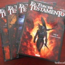 Cómics: EL TERCER TESTAMENTO COMPLETA - 4 TOMOS TAPA DURA - X. DORISON, A. ALICE - GLENAT (HJ). Lote 182154486
