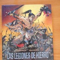 Cómics: LAS LEGIONES DE HIERRO - TOMO I: URKHAN, EL PRINCIPE ENEIDE - BRREMAUD, SANTACRUZ - GLENAT (CO). Lote 182264460