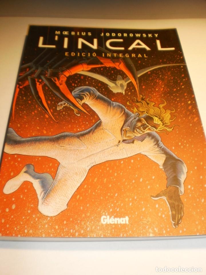 MOEBIUS JODOROWSKY LINCAL. EDICIÓ INTEGRAL (EN CATALÀ) GLÉNAT 2008 26 X 19 X 1,5 CM (SEMINOU) (Tebeos y Comics - Glénat - Autores Españoles)