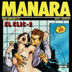 Cómics: MANARA. EL CLIC 2 (ERÓTICO) V. Lote 182903736