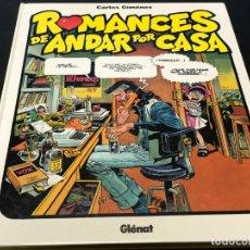 Cómics: ROMANCES DE ANDAR POR CASA, CARLOS GIMÉNEZ. Lote 183101448