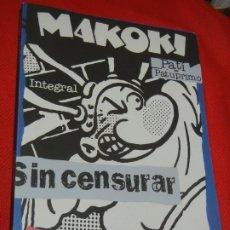 Cómics: MAKOKI INTEGRAL - PATI PATUPRIMO, DE GALLARDO / MEDIAVILLA / BONRAYO - ED.GLÈNAT 2002. Lote 183289760