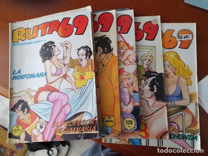 COMICS RUTA 69 (Tebeos y Comics - Glénat - Serie Erótica)