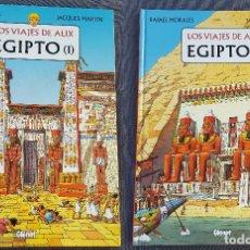 Cómics: LOS VIAJES DE ALIX EGIPTO 1 Y 2 - RAFAEL MORALÈS Y JACQUES MARTÍN (TAPA DURA). Lote 183506006