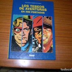 Cómics: LOS TEBEOS DE AVENTURAS EN 200 PORTADAS EDITA GLENAT . Lote 185193438