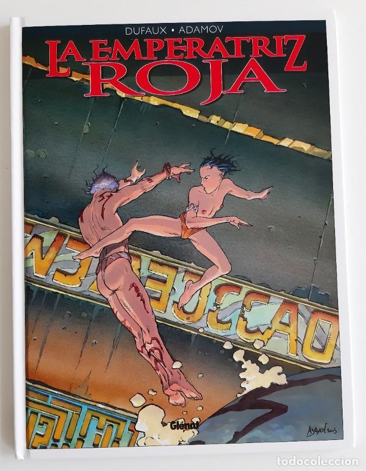 LA EMPERATRIZ ROJA - LAS GRANDES CATACUMBAS (Tebeos y Comics - Glénat - Serie Erótica)