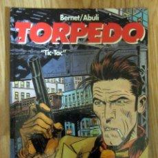 Cómics: COMIC TORPEDO TIC-TAC GLENAT BERNET ABULI 1996 TAPA DURA. Lote 186253681