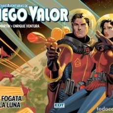Cómics: DIEGO VALOR: UNA FOGATA EN LA LUNA (EDT, 2013) DE ENRIQUE VENTURA Y ANDREU MARTÍN. TAPA DURA.. Lote 187099871