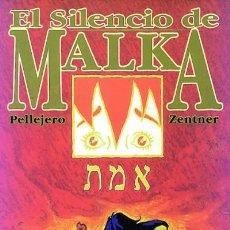 Cómics: EL SILENCIO DE MALKA (GLENAT, 2004) DE RUBÉN PELLEJERO Y JORGE ZENTNER. 88 PGS. Lote 187100213