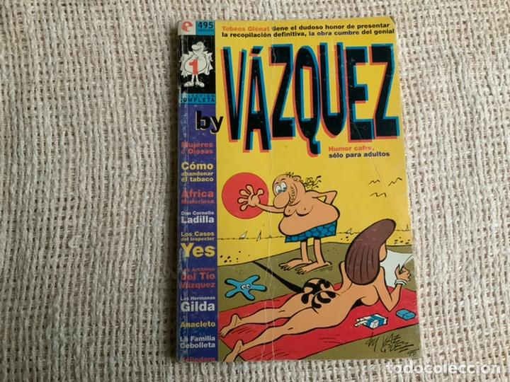 BY VÁZQUEZ. TOMO REETAPADO CON 6 EJEMPLARES. COLECCIÓN COMPLETA. -ED. GLENAT (Tebeos y Comics - Glénat - Autores Españoles)