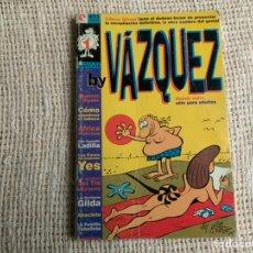 Cómics: BY VÁZQUEZ. TOMO REETAPADO CON 6 EJEMPLARES. COLECCIÓN COMPLETA. -ED. GLENAT. Lote 77583073