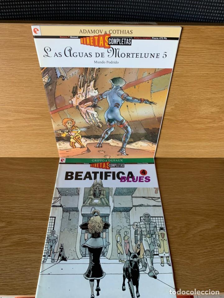 Cómics: VIÑETAS COMPLETAS - GLENAT 1994 - 10 NUMEROS - EXCELENTE ESTADO - Foto 3 - 187346377