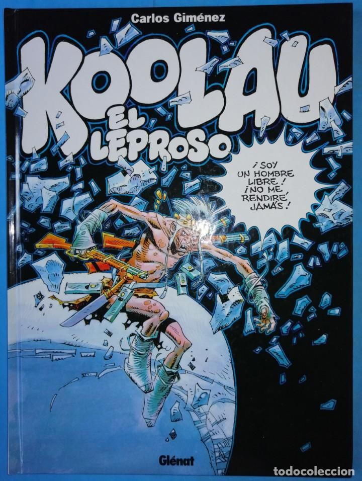 KOOLAU EL LEPROSO (CARLOS GIMÉNEZ) - TAPA DURA - GLENAT 2001 ''IMPECABLE'' (Tebeos y Comics - Glénat - Autores Españoles)