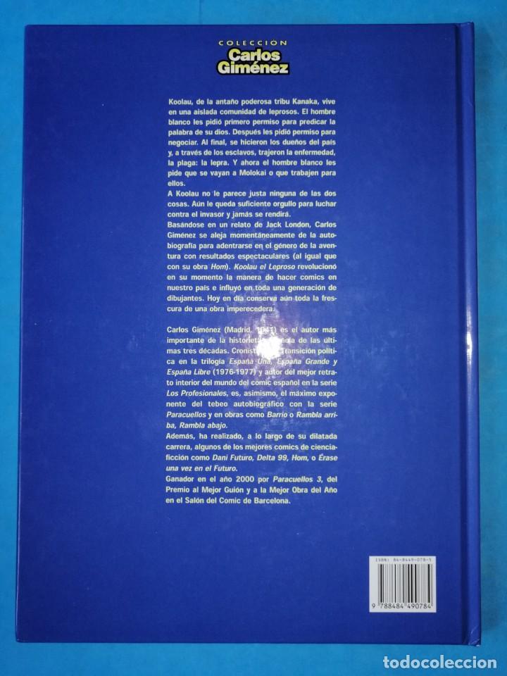 Cómics: KOOLAU EL LEPROSO (CARLOS GIMÉNEZ) - TAPA DURA - GLENAT 2001 IMPECABLE - Foto 3 - 189205893
