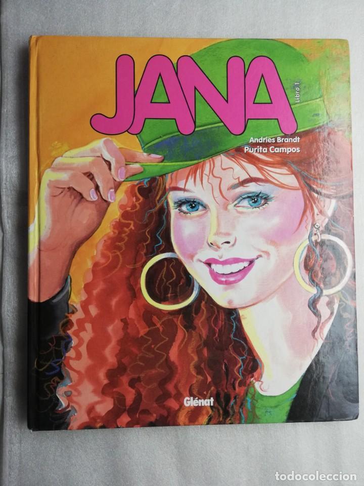 JANA PURITA CAMPOS ANDRIES BRANDT. GLENAT. TAPA DURA (Tebeos y Comics - Glénat - Autores Españoles)
