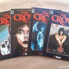 Cómics: THE CROW 1 A 4 COMPLETA - EL CUERVO DE JAMES O'BARR - GLENAT - JMV. Lote 190853981