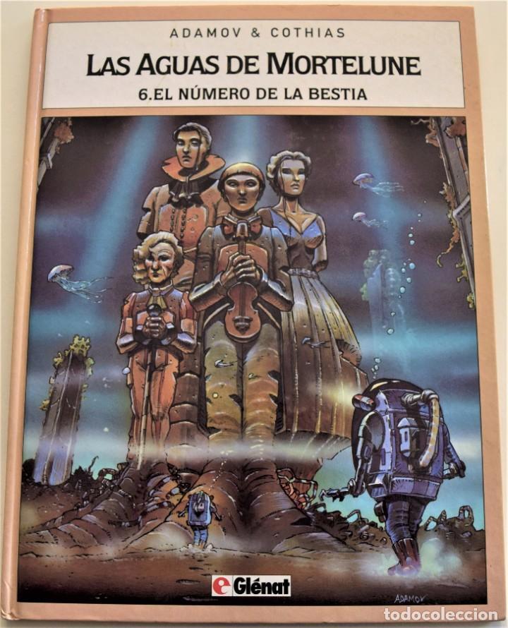 LAS AGUAS DE MORTELUNE Nº 6 - EL NUMERO DE LA BESTIA - ADAMOV & COTHIAS - AÑO 1995 (Tebeos y Comics - Glénat - Comic USA)