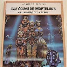 Cómics: LAS AGUAS DE MORTELUNE Nº 6 - EL NUMERO DE LA BESTIA - ADAMOV & COTHIAS - AÑO 1995. Lote 190974453
