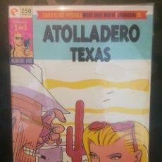 Cómics: ATOLLADERO TEXAS . COLECCION 1 DE 1 . N.2 . TEBEOS GLÉNAT .. Lote 190975347