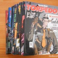 Cómics: TORPEDO - CASI COMPLETA - Nº 1 A 15 A FALTA DE Nº 12 - BERNET / ABULI - TAPA DURA - GLENAT (IS). Lote 191151553