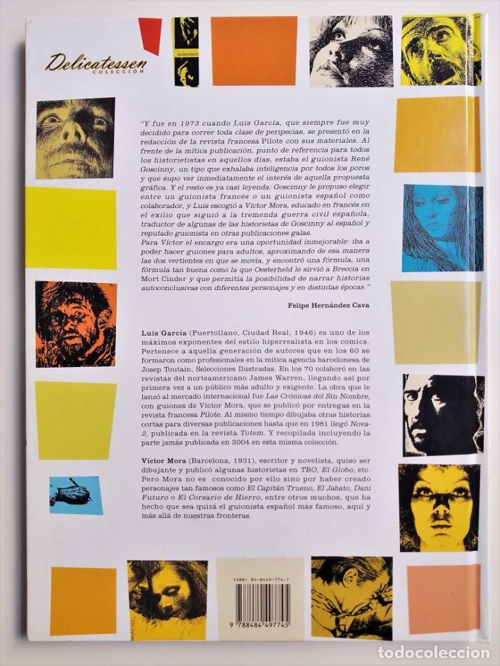 Cómics: LAS CRÓNICAS DEL SIN NOMBRE VÍCTOR MORA LUÍS GARCÍA GLÉNAT 2005 - Foto 2 - 191431855