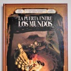 Cómics: LAS AVENTURAS IMAGINARIAS DEL JOVEN VERNE LA PUERTA ENTRE LOS MUNDOS JORGE GARCÍA RODRÍGUEZ GLÉNAT. Lote 191436463