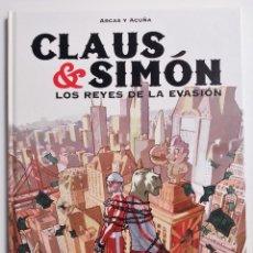 Cómics: CLAUS & SIMÓN LOS REYES DE LA EVASIÓN ARCAS Y DANIEL ACUÑA GLÉNAT COLECCIÓN DELICATESSEN 2005. Lote 191437137