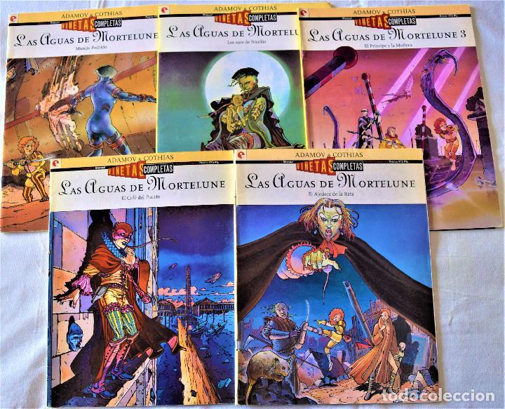 LAS AGUAS DE MONTELUNE Nº 1, 2, 4, 7 Y 9 - POR ADAMOV Y COTHIAS - EDICIONES GLENAT - TAPA BLANDA (Tebeos y Comics - Glénat - Comic USA)