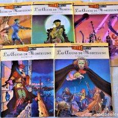 Cómics: LAS AGUAS DE MONTELUNE Nº 1, 2, 4, 7 Y 9 - POR ADAMOV Y COTHIAS - EDICIONES GLENAT - TAPA BLANDA. Lote 191866287