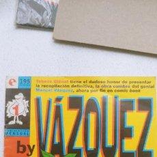 Cómics: BY VAZQUEZ COLECCIÓN COMPLETA DEL 1 AL 6 GLENAT. Lote 191893581