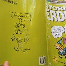 Cómics: HISTORIAS VERDES BY VAZQUEZ GLENAT 1998 GENIOS DEL HUMOR Nº 6. Lote 191897118