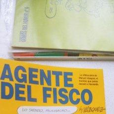 Cómics: AGENTE DEL FISCO BY VÁZQUEZ GENIOS DEL HUMOR Nº 2 GLÉNAT . Lote 191917240